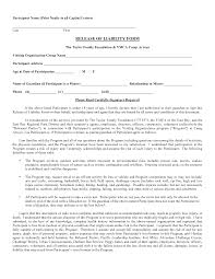 Participation Certificate Templates Free Download Letter Templates 1503408335 Car Accident Waiver And Release Of