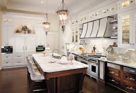 Rustic Kitchen Boston Menu - staggered kitchen cabinetry kitchen traditional with dark wood
