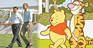 X I Meme - chinese bans winnie the pooh on social media after memes compare