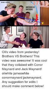 Conor Maynard Meme - awesome youtuberss brothers vs maynard brothers nicc oli s video