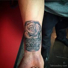 rose and crown tattoo on wrist tattoo designs tattoo pictures