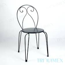 Wrought Iron Bistro Chairs Wrought Iron Bistro Chairs Iron Bistro Chair With Hairpin Legs