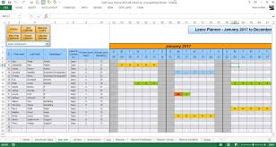 Accrual Spreadsheet Template Anual Leave Planner Template Manage Staff Leave With This Excel