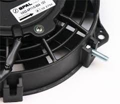 5000 cfm radiator fan spal high performance fans
