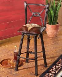 ideas comfortable and anti scratch with wrought iron bar stools