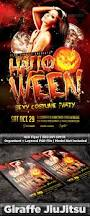 review halloween costume party flyer template codesign