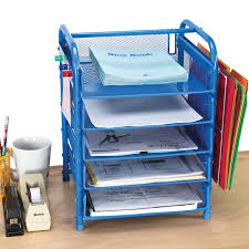 Paper Organizer For Desk Really Desktop Classroom Papers Organizer With Two Wire Works
