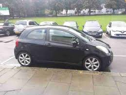 toyota yaris 2007 black toyota yaris 1 8 sr vvti black 2007 2 door car for sale