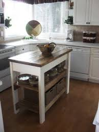 how to make a small kitchen island best 25 rolling kitchen cart ideas on kitchen island