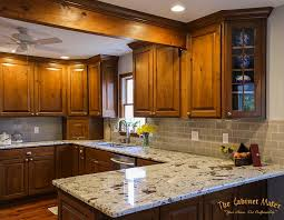 Dublin Knotty Alder Kitchen With Glaze Finish The Ohio Cabinet Maker - Kitchen cabinets maker