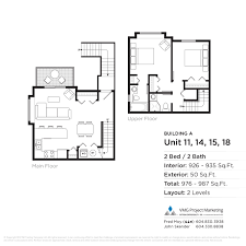 floorplans parkview townhomes burnaby
