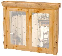 Rustic Bathroom Medicine Cabinets by Rustic Pine Medicine Cabinet For Log Homes And Cabins Log
