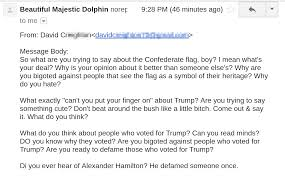 Do You Have A Flag Letters From Angry Racists Part 1 U2013 Shane Morris U2013 Medium