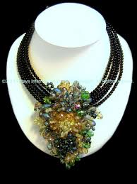 fashion jewelry statement necklace images Treasure trove statement necklace thai fashion jewelry JPG