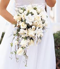 wedding bouquet cascading bridal bouquet victor the florist the best in flowers
