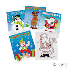 amazon fun express christmas coloring books party favor 12