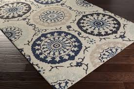 Taupe Area Rug Surya Centennial Cnt 1103 Light Grey Navy Taupe Area Rug