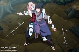 sasuke and sakura commission sasuke vs 3 12 by dannex009 on deviantart