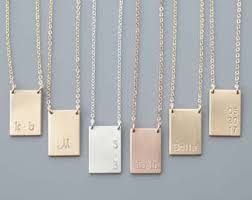custom engraved necklace pendants personalized and custom jewelry etsy