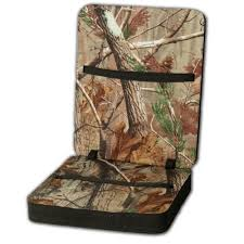 Stadium Chairs With Backs Realtree Deluxe Seat With Back Walmart Com