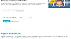 product name generator free search cool name ideas