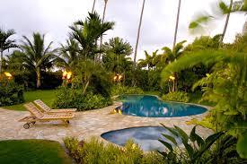 Tropical Backyard Ideas Tropical Landscaping Ideas For Backyard Design And Ideas