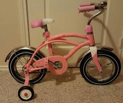 find more radio flyer pink girls toddler 12 inch bike with
