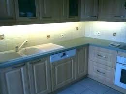 eclairage led cuisine plan travail bandeau lumineux cuisine eclairage led plan de travail leds go