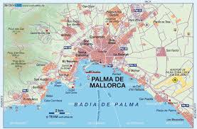 Spain Map World by Map Of Palma De Mallorca Overview Spain Map In The Atlas Of