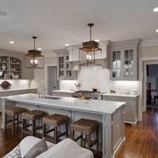 kitchen cabinets open floor plan 75 beautiful open concept kitchen with gray cabinets