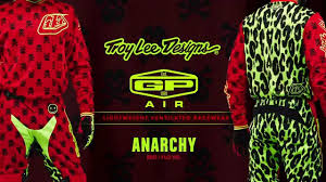 troy lee motocross gear 2016 troy lee designs gp air anarchy red global launch youtube