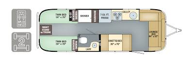 floorplans international signature airstream 2017 airstream international signature 28 twin floorplan