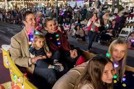 friday night lights santa barbara state street lights up for 65th annual downtown santa barbara