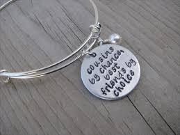 adjustable bangle bracelet images Cousin bracelet quot cousins by chance best friends by choice jpg