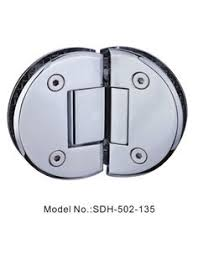 90 degree glass to glass mounted shower door hinges for tempered
