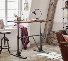 pittsburgh crank sit stand desk pittsburgh crank standing desk pottery barn