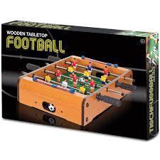 table top football games wooden tabletop football hawkin s bazaar