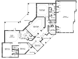 extremely creative one story house plans free 3 craftsman floor