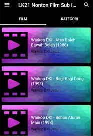 film gratis sub indo download lk21 nonton film gratis sub indo google play softwares