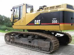 used track excavators caterpillar 350l year 1996 prima equipment