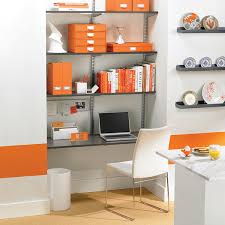 Wall Mounted Desk Shelf Driftwood U0026 Platinum Elfa Wall Mounted Desk The Container Store