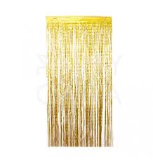 Gold Foil Curtain by Paper Garland