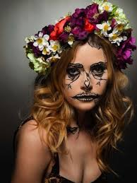 maquillaje halloween fotos maquillaje calavera maquillaje