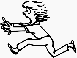oranges clipart black and white person running running man orange clip art at vector clip art