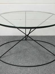 Round Glass Coffee Table by Calypso Round Metal Glass Coffee Table U2022 Southern Sunshine