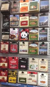 restaurants gift cards gift cards at lowes frequent miler