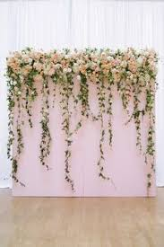 wedding backdrop of flowers whimsically san francisco wedding indoor wedding