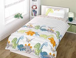 Junior Bed Sets Uk Dinosaurs Junior Duvet Cover And Pillowcase Set Co