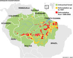 south america map rainforest news americas the in graphics