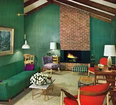 retro livingroom alluring green loft room design with ravishing retro living room